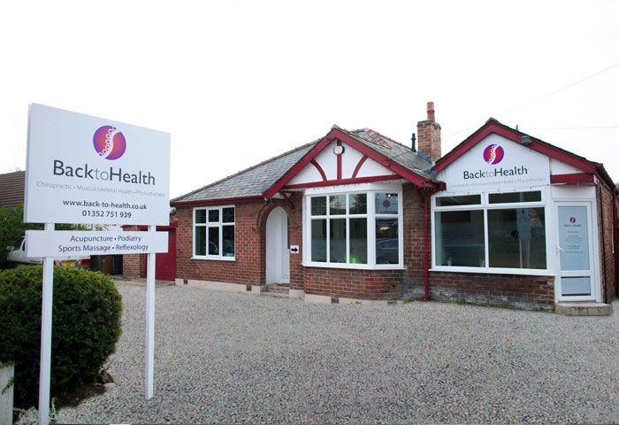 Back to Health clinic in Mold