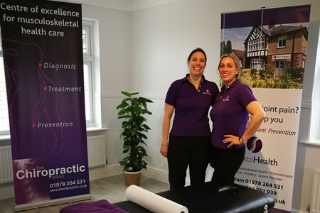 Chiropractors at Back to Health in Wrexham