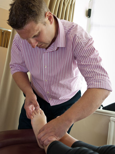 Ankle pain treatment at Back to Health